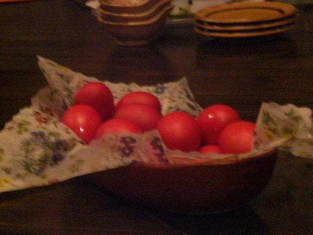復活祭に欠かせないタマゴ。