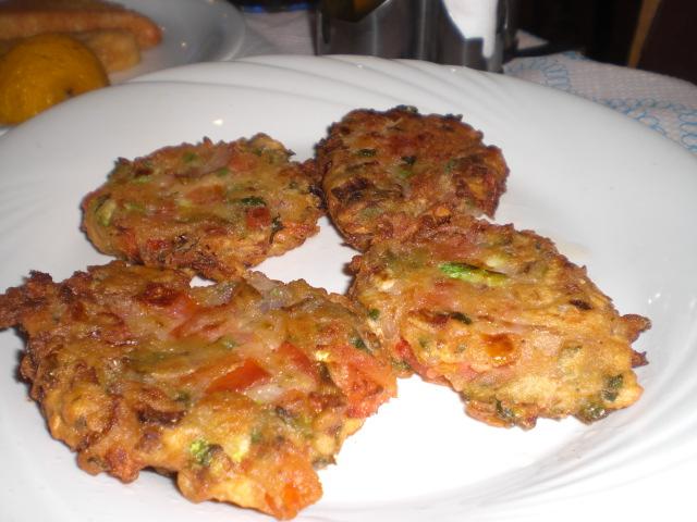 サントリーニ島の名物料理です
