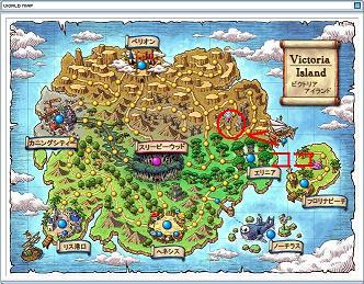 ワールドマップ ビクトリアアイランド