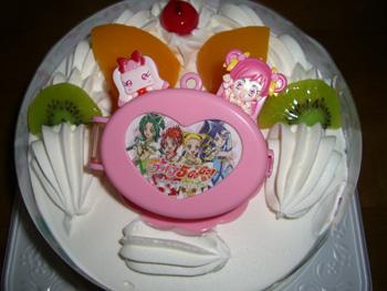 誕生日ケーキ