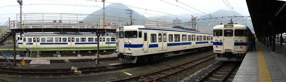 415系門司港駅ST