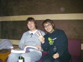 中矢先生と小林さん♪
