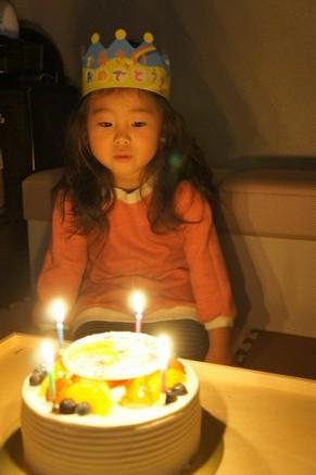 4歳誕生日2