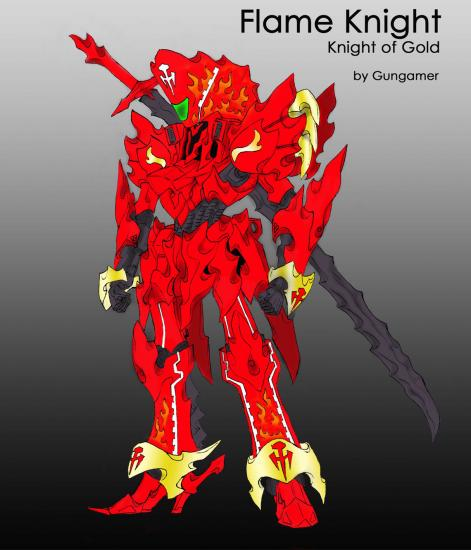 Flame Knight GGI KOG改修案
