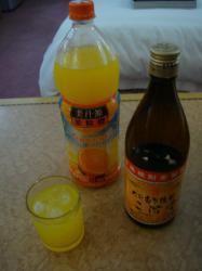 焼酎+オレンジ