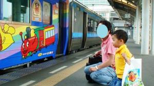 アンパンマン列車だっ!! 20090613