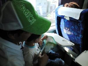 帰りは、ばいきん号 20090614アンパンマン列車