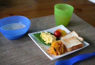 しゅうとの朝食 20100521