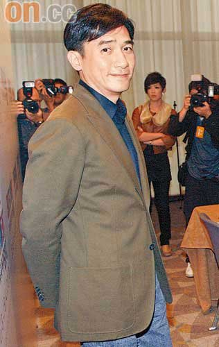 香港影視娯楽大使トニー