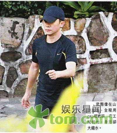 トニー@ジョギング中