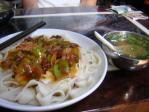 牛肉あんかけ麺
