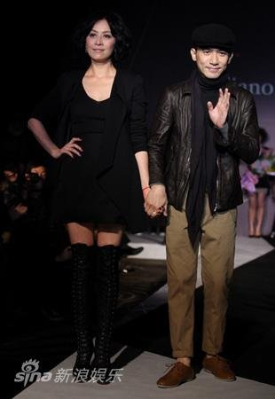 トニーさん@上海ファッションショー1