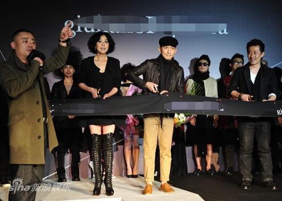 トニーさん@上海ファッションショー2