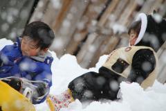 2010正月白川郷にて
