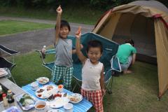 夏休み(能登島・キャンプ1)