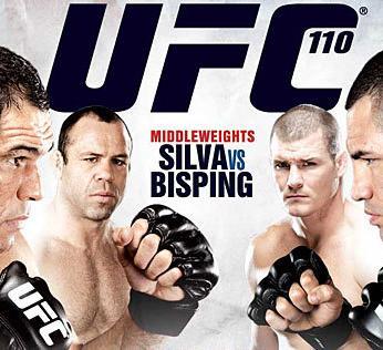 UFC110の試合結果を振り返る