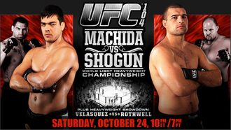 UFC104 MACHIDA vs SHOGUN