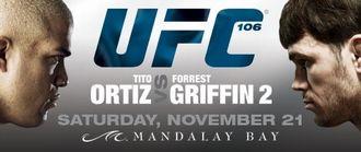 UFC106 フォレスト・グリフィン vs ティト・オーティズ
