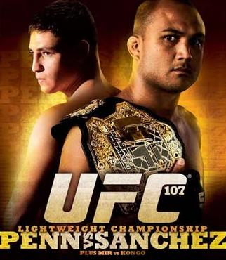UFC107 PENN SANCHEZ