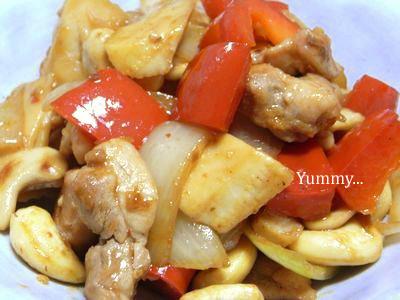鶏肉とカシューナッツ