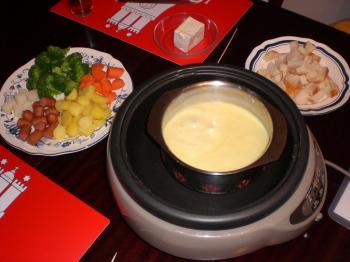 チーズホンデュ