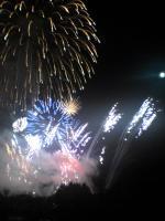 神宮寺の花火
