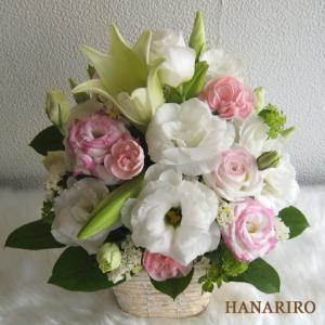 トルコキキョウのアレンジ-インターネット宅配花屋さん花RiRo