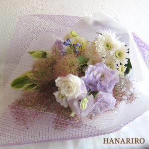 トルコキキョウの花束-インターネット宅配花屋さん花RiRo