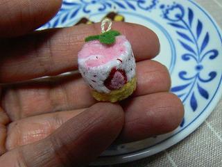 イチゴのムース