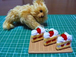ショートケーキ3つ