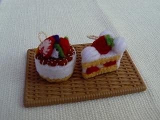 フロマージュとショートケーキ