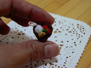 ハートのチョコケーキ2