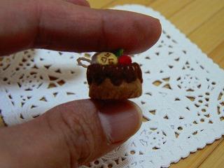 ハートのチョコケーキ3