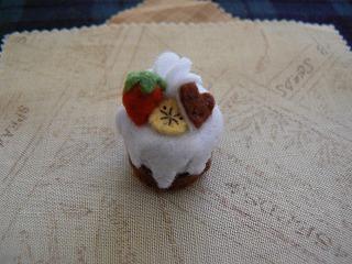 チョコケーキ(ハートのかざり)