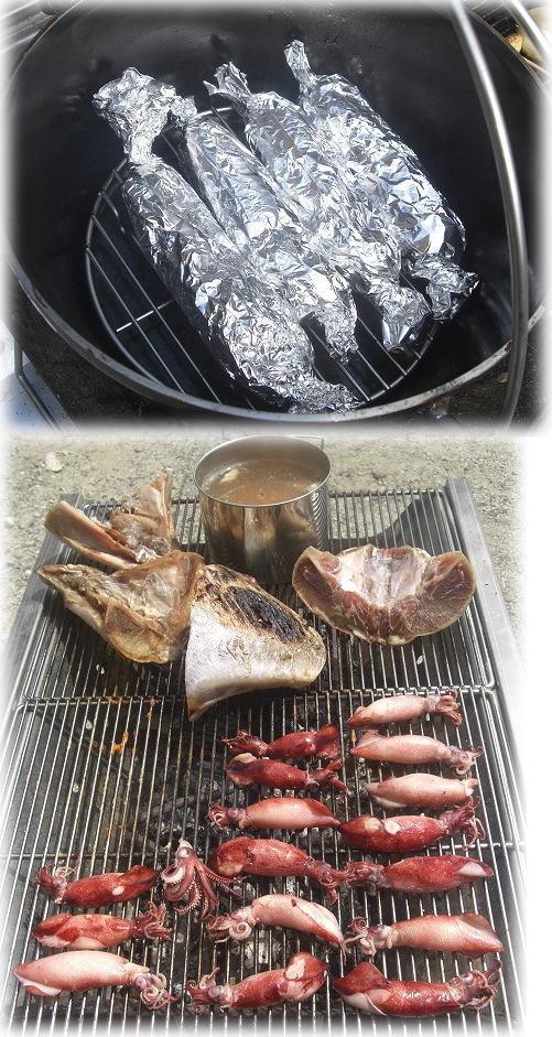 ソーセージ&頬肉。