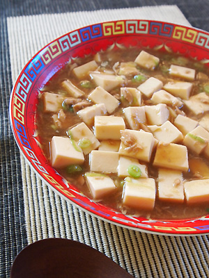 ツナ入り麻婆豆腐
