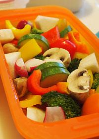 バーニャカウダの野菜