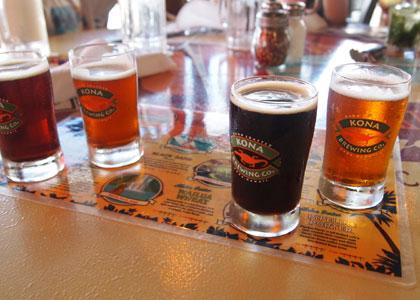 ビールのサンプラー
