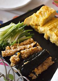 納豆とたまご