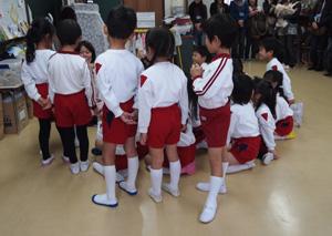 幼稚園参観