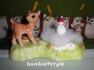 ミニミニ雪だるま♪