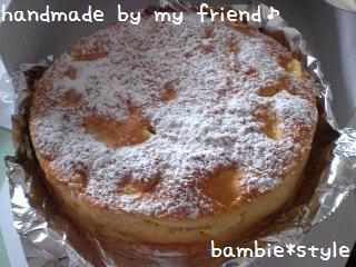 アップルケーキ♪