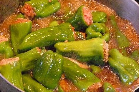 肉詰め煮♪