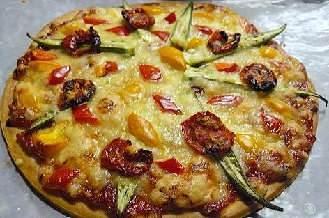 夏野菜ピザ♪