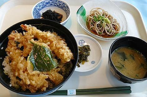 エビ天丼♪