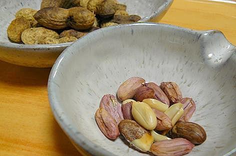 ピーナッツ~♪