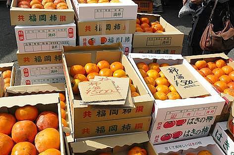 柿が安い~