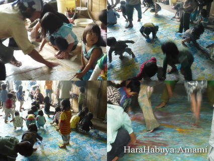『ISAO ART SESSION KIDS CLASS IN AMAMI 』 ~表現する自由~
