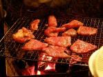 キャンプの肉