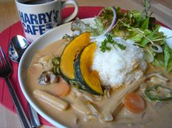 coconuts vegetable curry
